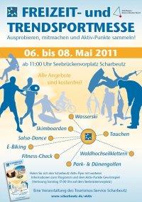 Freizeit- und Trendsportmesse in Scharbeutz. Ausprobieren, mitmachen und Aktiv-Punkte sammeln…