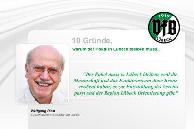10 Gründe für den VFB Lübeck