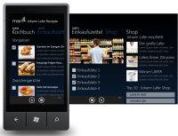 MSN präsentiert neue Applikation: Johann Lafer Rezepte für das Windows Phone 7