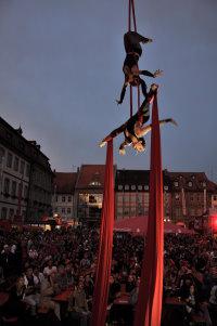Ostseespass: Künstlerfest Burg auf Fehmarn / Marktplatz…