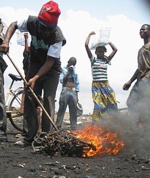 Elektroschrott-Endstation Ghana: Gefahr für Gesundheit und Umwelt (Foto: EMPA)
