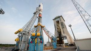 ´Heutiger Start mit Sojus-Rakete in Kourou (Franz. Guayana) erfolgreich