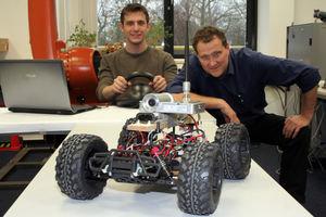 Einwegroboter für brenzliche Situationen entwickelt – 500-Euro-Maschine soll teure Rettungsroboter im Einsatz unterstützen