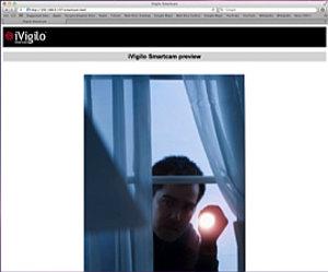 Smartcam: Überwachungs-App soll Bösewichte überführen (Foto: ivigilo.eu)
