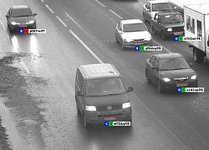 Cordon: Farbcode signalisiert Geschwindigkeit (Foto: Screenshot)