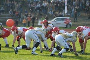 Cougars: Starke GFL-Premiere – trotz 13:23-Niederlage gegen Dresden