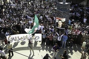 Proteste: Die Lage in Syrien spitzt sich zu (Foto: flickr.com/FreedomHouse2)