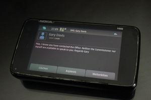 Smartphone: Datenschutzbehörde macht per SMS Schluss (Foto: Max Schrems)