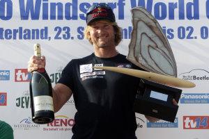 Bjoern Dunkerbeck gewann 2011 seinen 41sten WM Titel