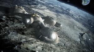 ESA plant Mondbasis aus dem 3D-Drucker – Konsortium untersucht Mondgestein als Baumaterial