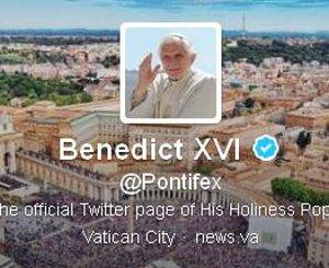Benedikt: Papst schließt seinen Twitter-Account (Foto: Screenshot/twitter.com)