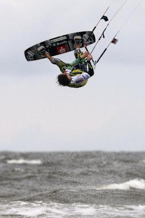 Toller Saisonstart für Kitesurf-Europameister Mario Rodwald – Der sechsfache deutsche Champion wird beim Auftakt der PKRA World Tour Siebter
