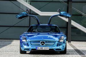 Elektroauto: Mercedes-Benz SLS AMG Coupé Electric Drive (Foto: daimler.com)