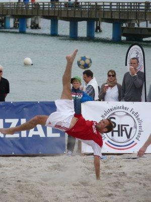 Offizielle Landesmeisterschaft im Beachsoccer am 8. und 9. Juni in Scharbeutz