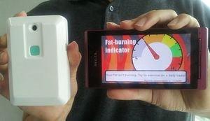 Geräte-Check: Dieser Nutzer hat kaum Fett verbrannt (Foto: iop.org)