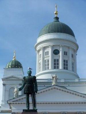 Senatsplatz in Helsinki: Russlands Einfluss wächst (Foto: pixelio.de, J. Dierks)