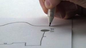 """Hightech-Stift schreibt elektronische Schaltkreise – """"Circuit Scribe"""" setzt auf leitfähige, schnell trocknende Flüssigkeit"""
