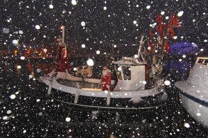 Besondere vorweihnachtliche Momente -Maritimer Weihnachtsmarkt im Niendorfer Hafen