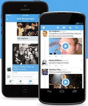 Twitter auf Smartphones: ein einziger Buchstabe schuld (Foto: twitter.com)