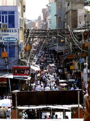 Neu-Delhi: Immer mehr Inder sind online (Foto: pixelio.de, Joachim Kant)