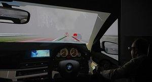 Head-up-Display zeigt Position anderer Autos – Innovative Technologie in Zivil- und Einsatzfahrzeuge integrierbar