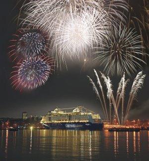 Feuerwerk im Fjord – Silvester mit Color Line in Oslo