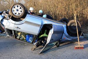 Kreis Segeberg – A7 Großenaspe: Schwerer Verkehrsunfall nach Straßenglätte
