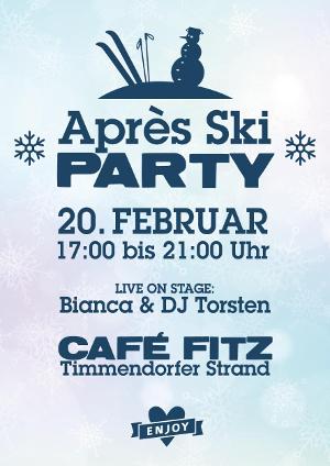 Après-Ski-Party im Café Fitz