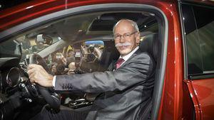 Daimler-CEO Dieter Zetsche im Interview bei
