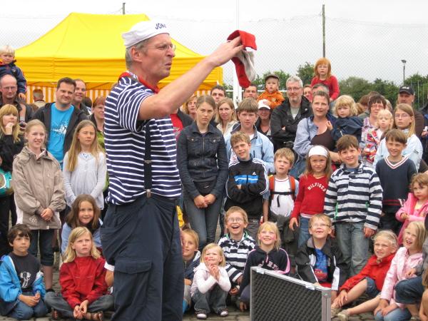 Kinderfest in Lemkendorf entfällt – Käp'n Kümmel kommt zum Südstrand