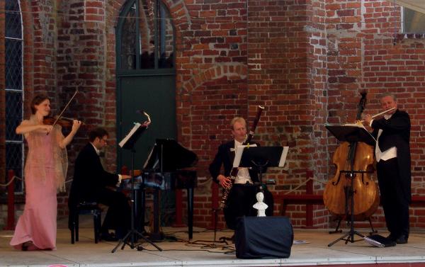 Wagners Salonquartett am 9. Juli in Meeschendorf