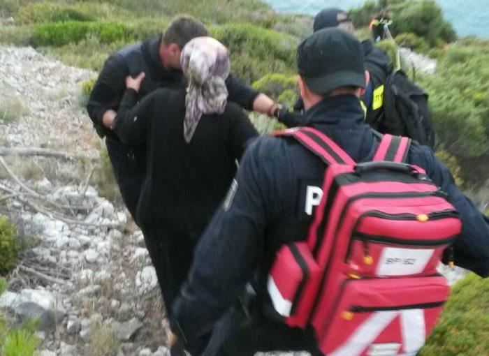 Bundespolizei See auf Samos: Gefährliche Rettungsaktion