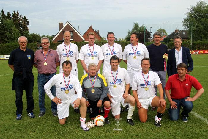 NTSV Strand 08 erster Ü50-Kreispokalsieger