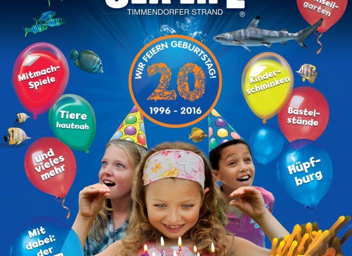 Veranstaltungstipp: Großes Kinderfest SEA LIFE Timmendorfer Strand am 17.7.2016 von 11 – 18 Uhr