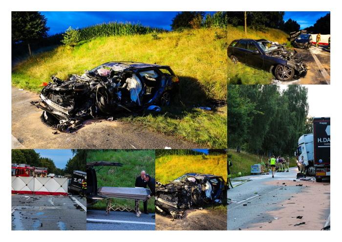 Tragischer Unfall auf B205 – Ein Toter