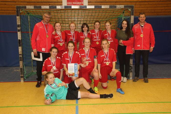 TSV Ratekau ist Futsal-Kreismeister bei den B-Juniorinnen