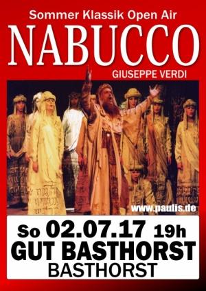 """Die Festspieloper Prag präsentiert Giuseppe Verdis """"Nabucco"""" – Open Air am 02.07.2017 auf Gut Basthorst"""