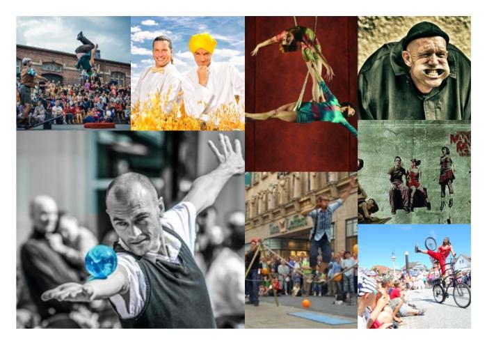 15. Straßenkünstlerfestival – 03. bis 06. August 2017 mit Highlights der letzten 14 Jahre Straßenkunst in Scharbeutz