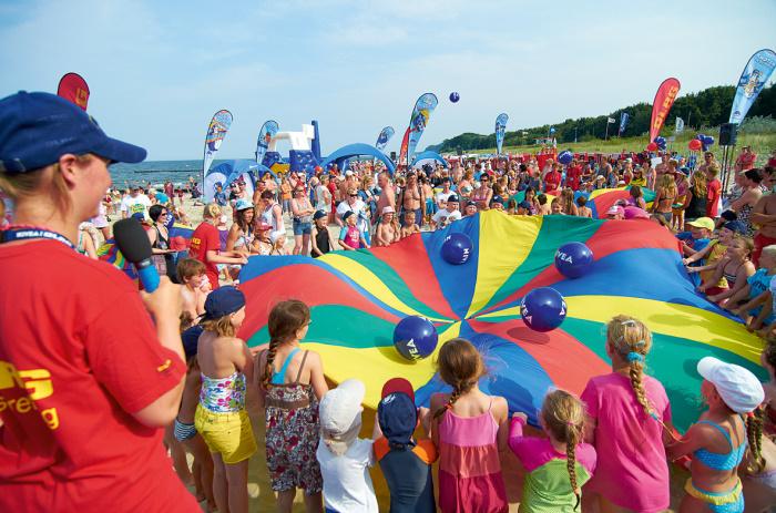 Events auf Fehmarn: DLRG/NIVEA-Strandfest am Südstrand