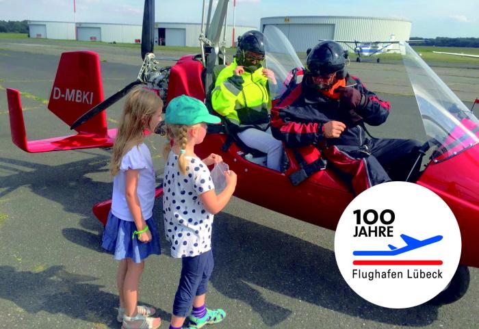 Großes Flughafenfest – 100 Jahre Flughafen Lübeck