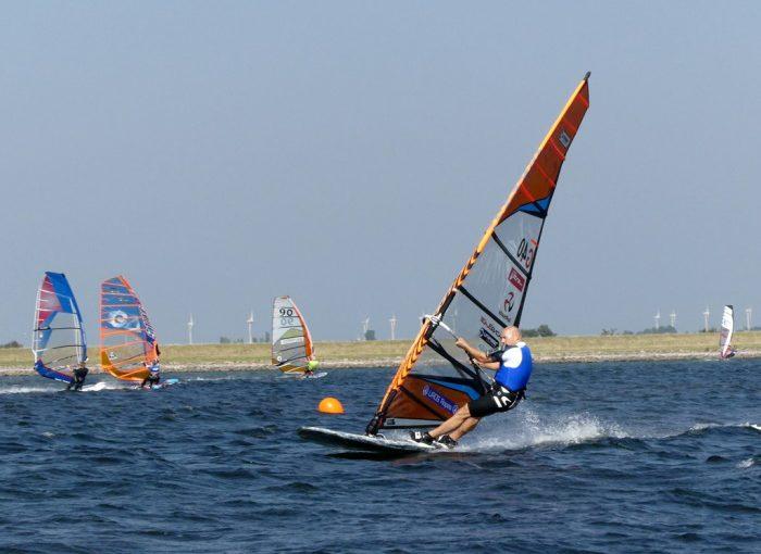 Deutsche Meisterschaft im Speedwindsurfen in Orth